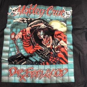 Medium Black Motley Crue Dr Feelgood Band Shirt